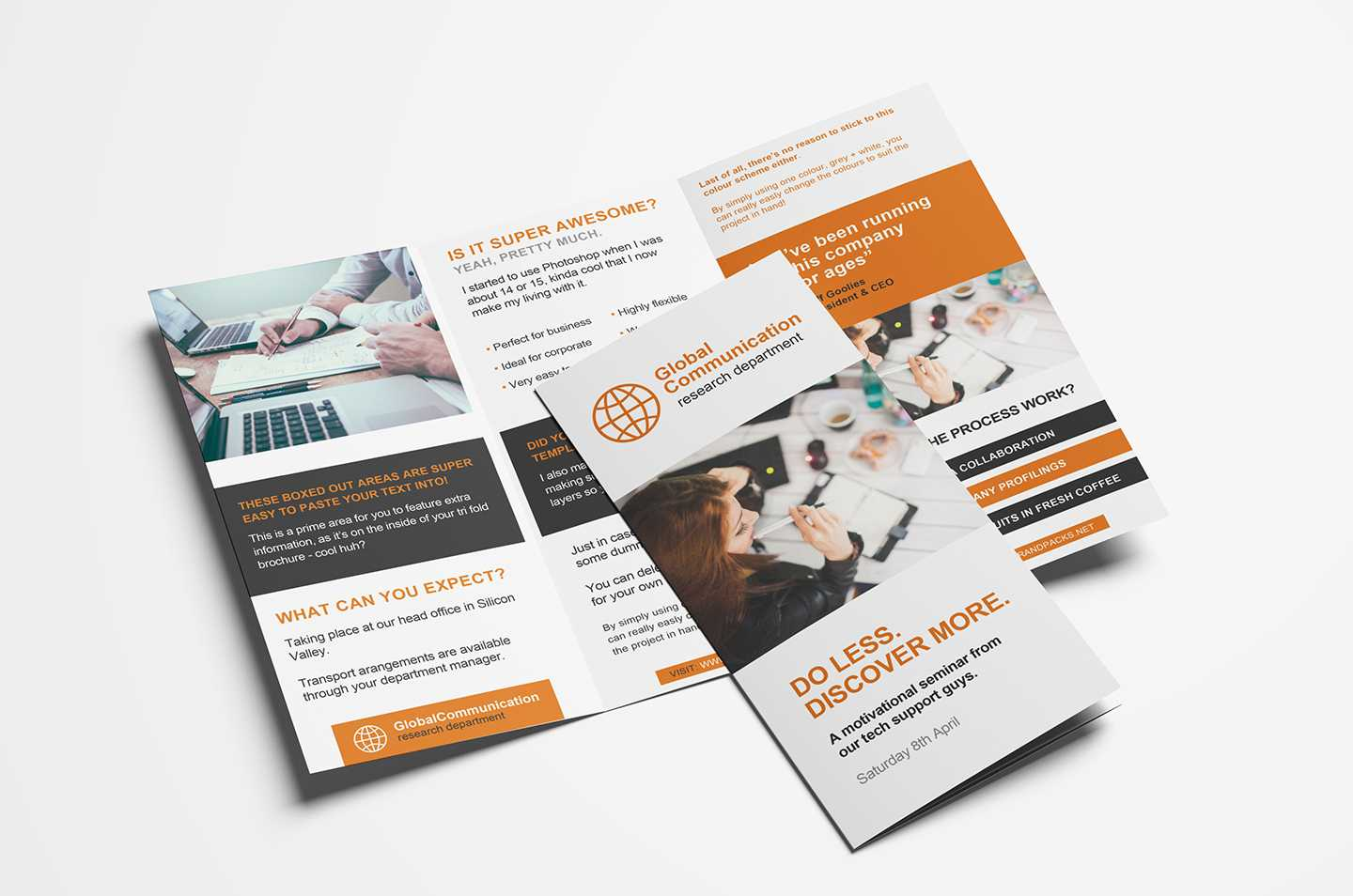001 Free Fold Brochure Template For Photoshop Illustrator Regarding Free Illustrator Brochure Templates Download
