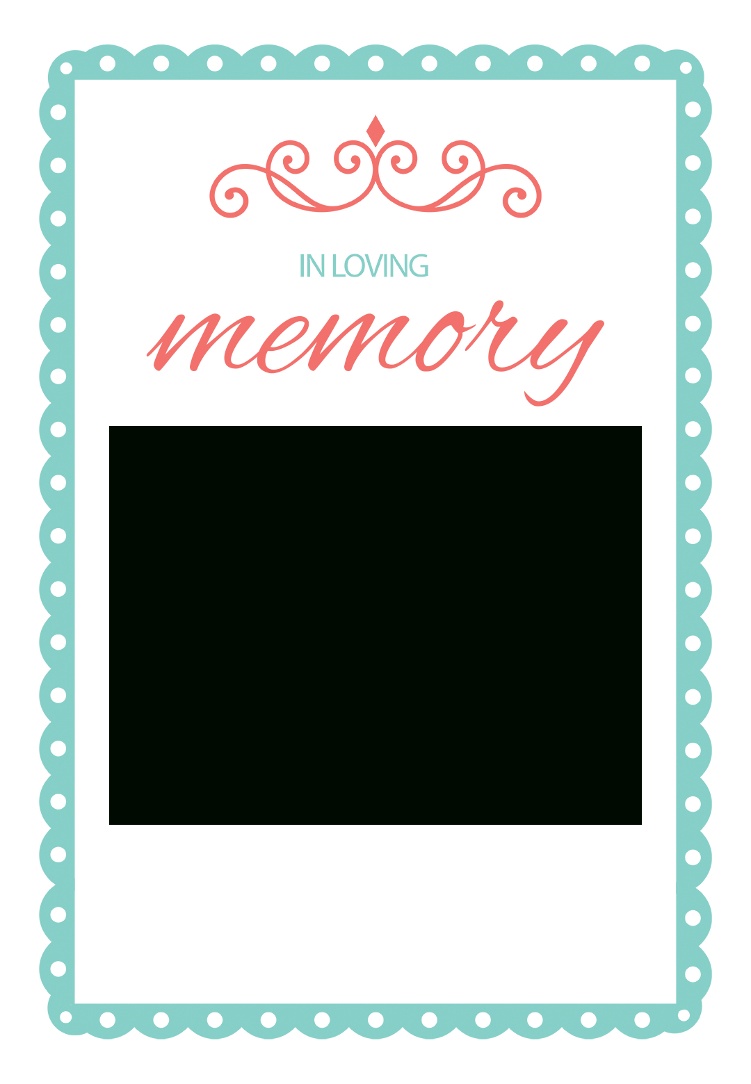 001 In Loving Memory Template Free Fantastic Ideas Card Inside In Memory Cards Templates