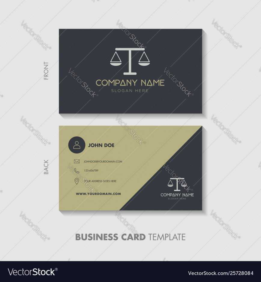 001 Lawyer Business Card Template Design Vector Cards Intended For Legal Business Cards Templates Free