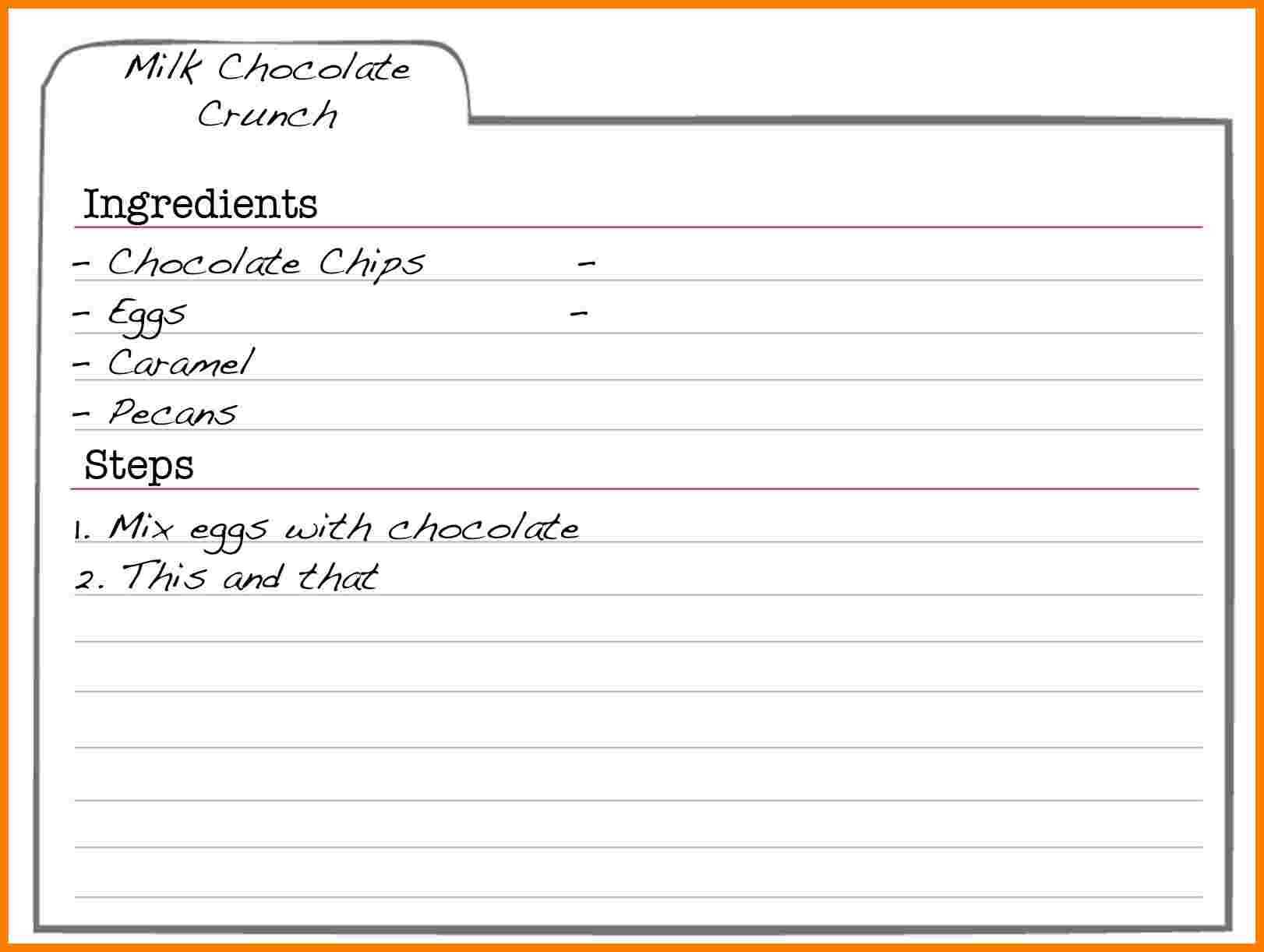 001 Recipe Template For Word Free Editable Card Templates Within Microsoft Word Recipe Card Template