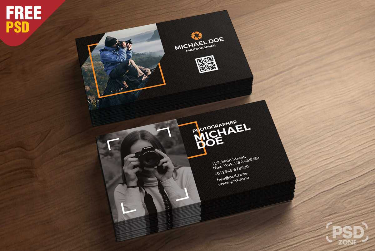002 Photography Business Cards Examples Free Photographer Regarding Photography Business Card Templates Free Download