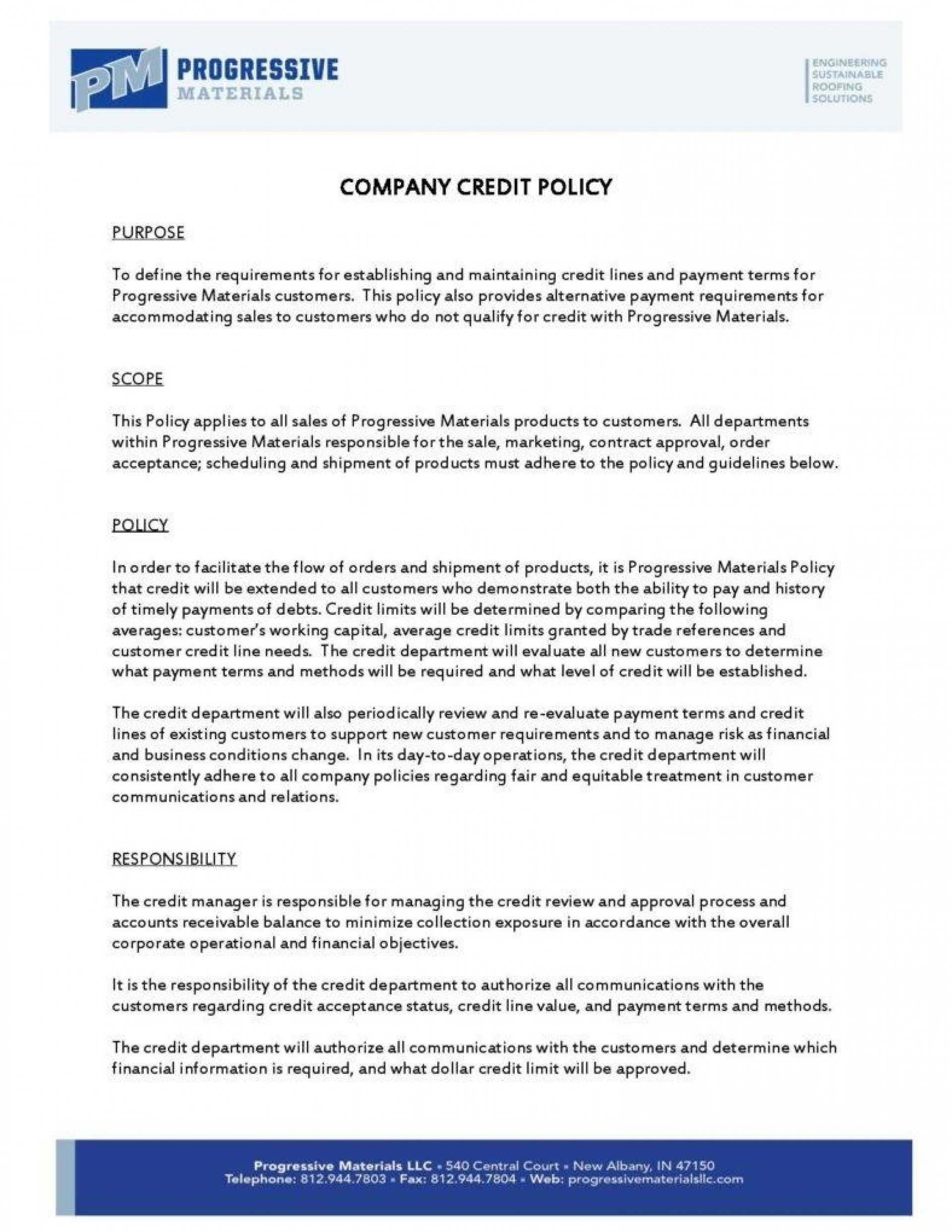 002 Template Ideas Dress Code Policy Company Credit Page With Company Credit Card Policy Template