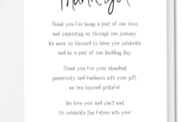 002 Wedding Thank You Card Wording Ideas Template Note with regard to Template For Wedding Thank You Cards