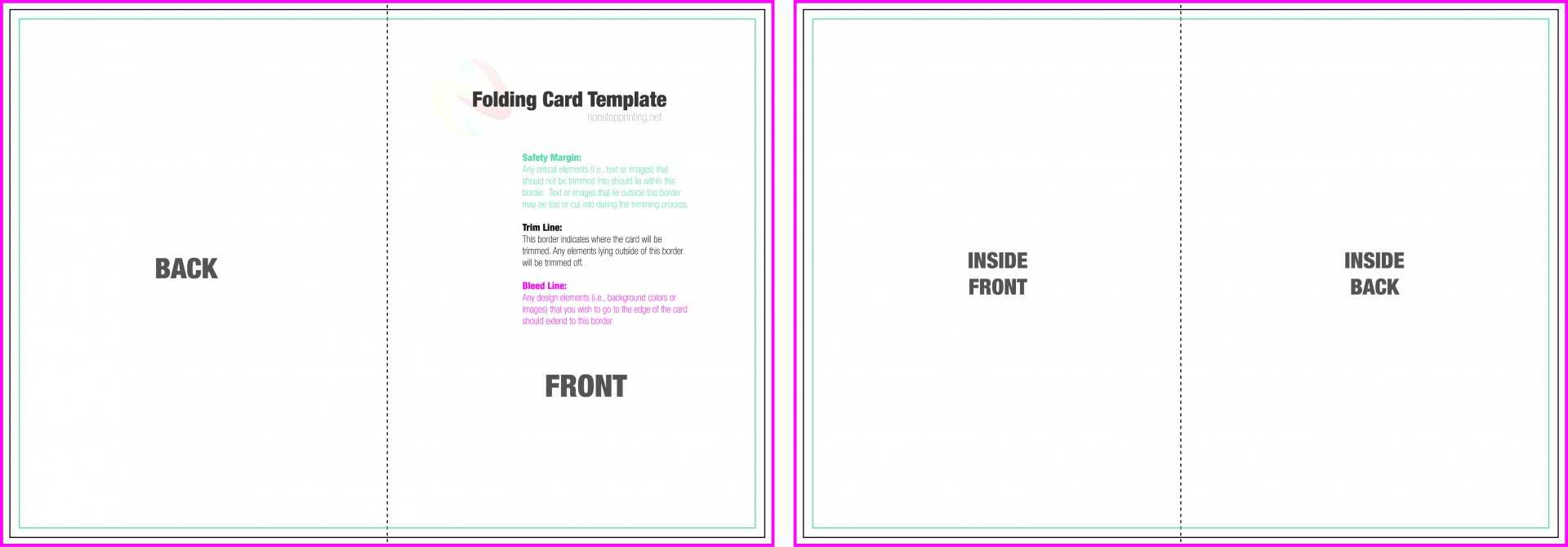 003 Free Blank Greeting Card Templates 314639 Template Ideas Throughout Fold Out Card Template