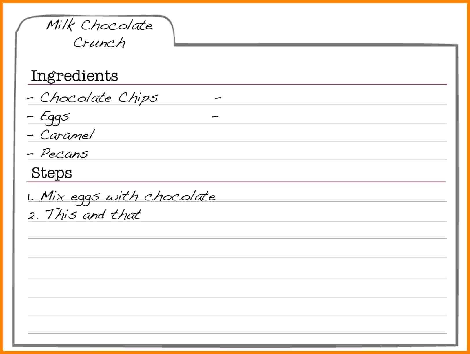 003 Free Editable Recipe Template For Word Ideas Card Intended For Free Recipe Card Templates For Microsoft Word