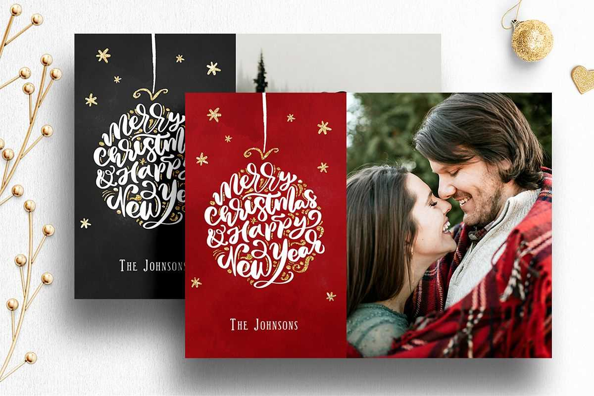 003 Photoshop Christmas Cards Templates Template Ideas Pertaining To Free Photoshop Christmas Card Templates For Photographers