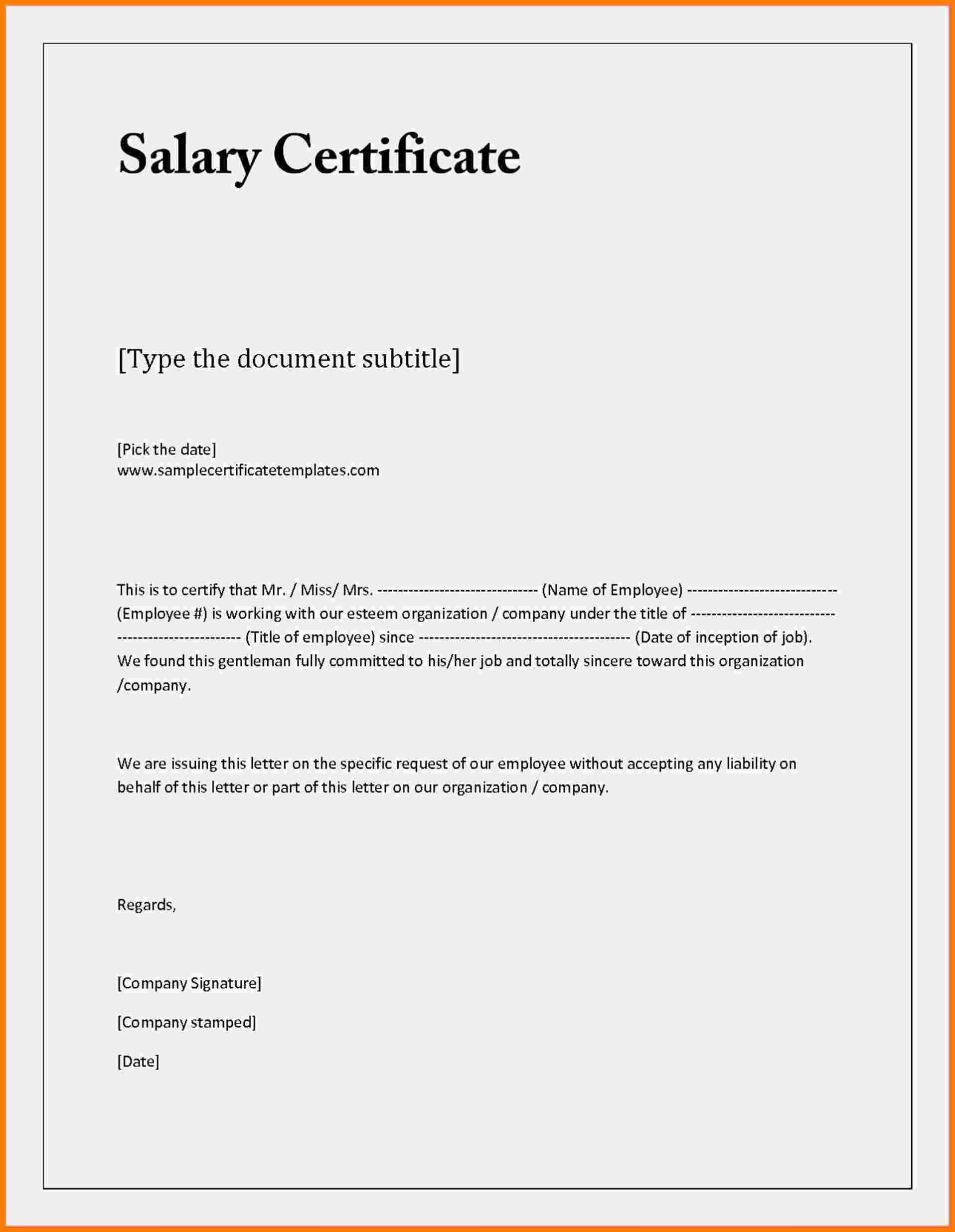 004 Letter Of Employment Template Ideas Certificate Sample With Regard To Certificate Of Acceptance Template