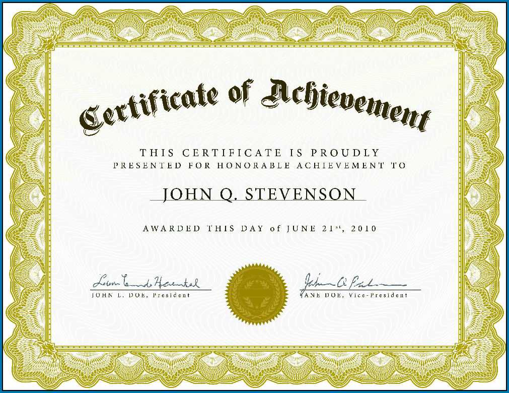 004 Template Ideas Free Templates For Certificates Editable For Free Template For Certificate Of Recognition