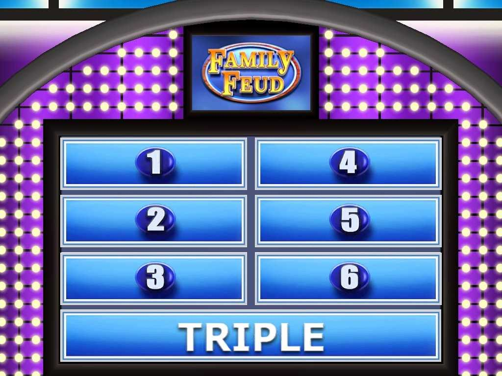 005 Family Feud Template Ppt Ideas Beautiful Photograph Of Throughout Family Feud Game Template Powerpoint Free