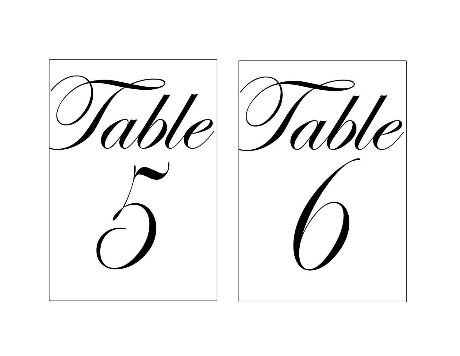 005 Table Number Template Word Il Fullxfull Awesome Ideas Regarding Table Number Cards Template