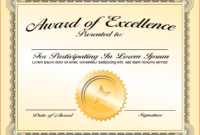 005 Template Ideas Free Templates For Certificates Fantastic inside Participation Certificate Templates Free Download