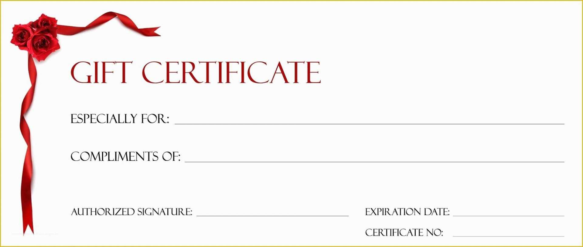 006 Free Printable Christmas Gift Certificate Template Word Throughout Christmas Gift Certificate Template Free Download