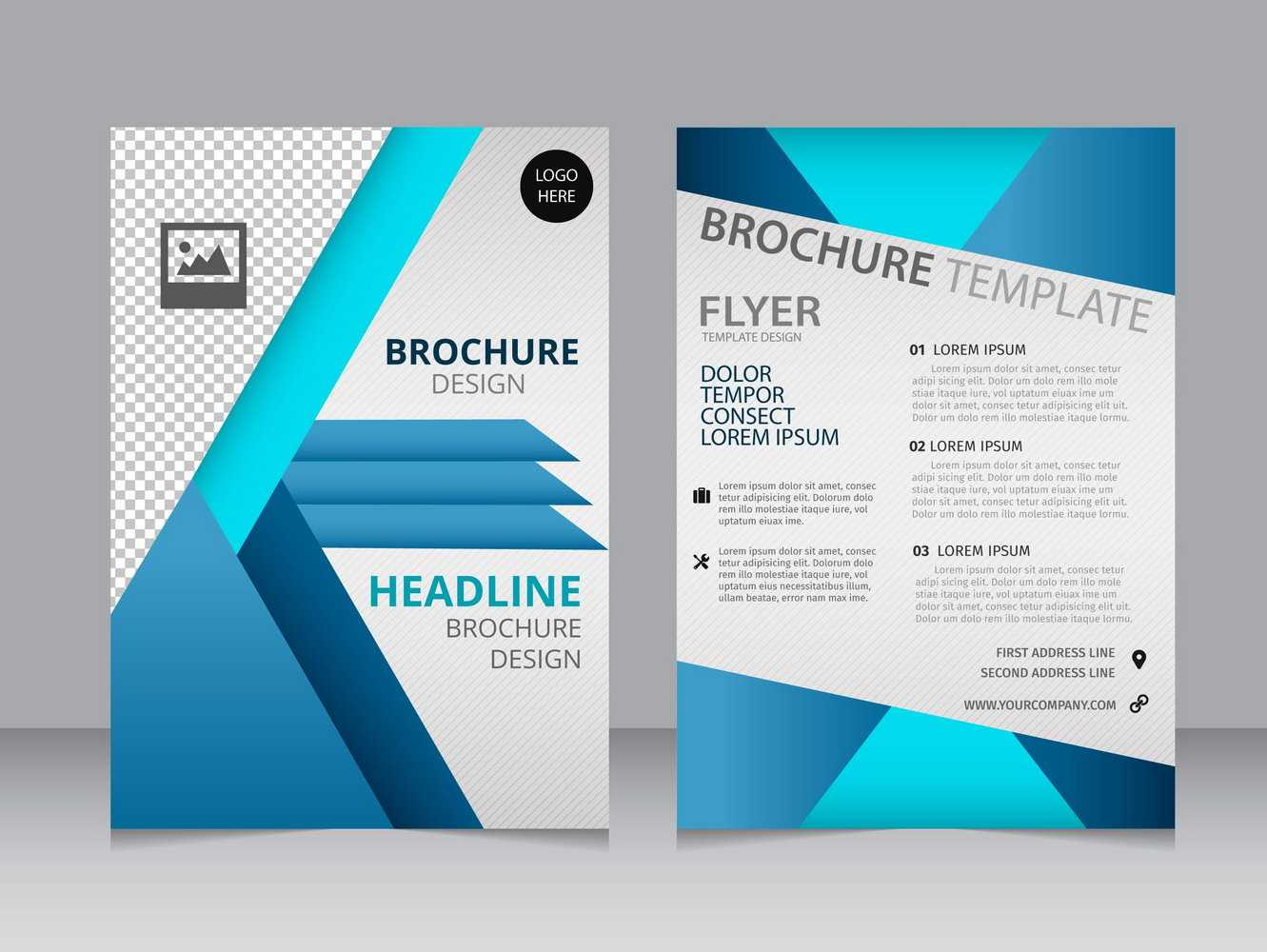 007 Blank Brochure Templates Free Download Word Template Regarding Free Illustrator Brochure Templates Download