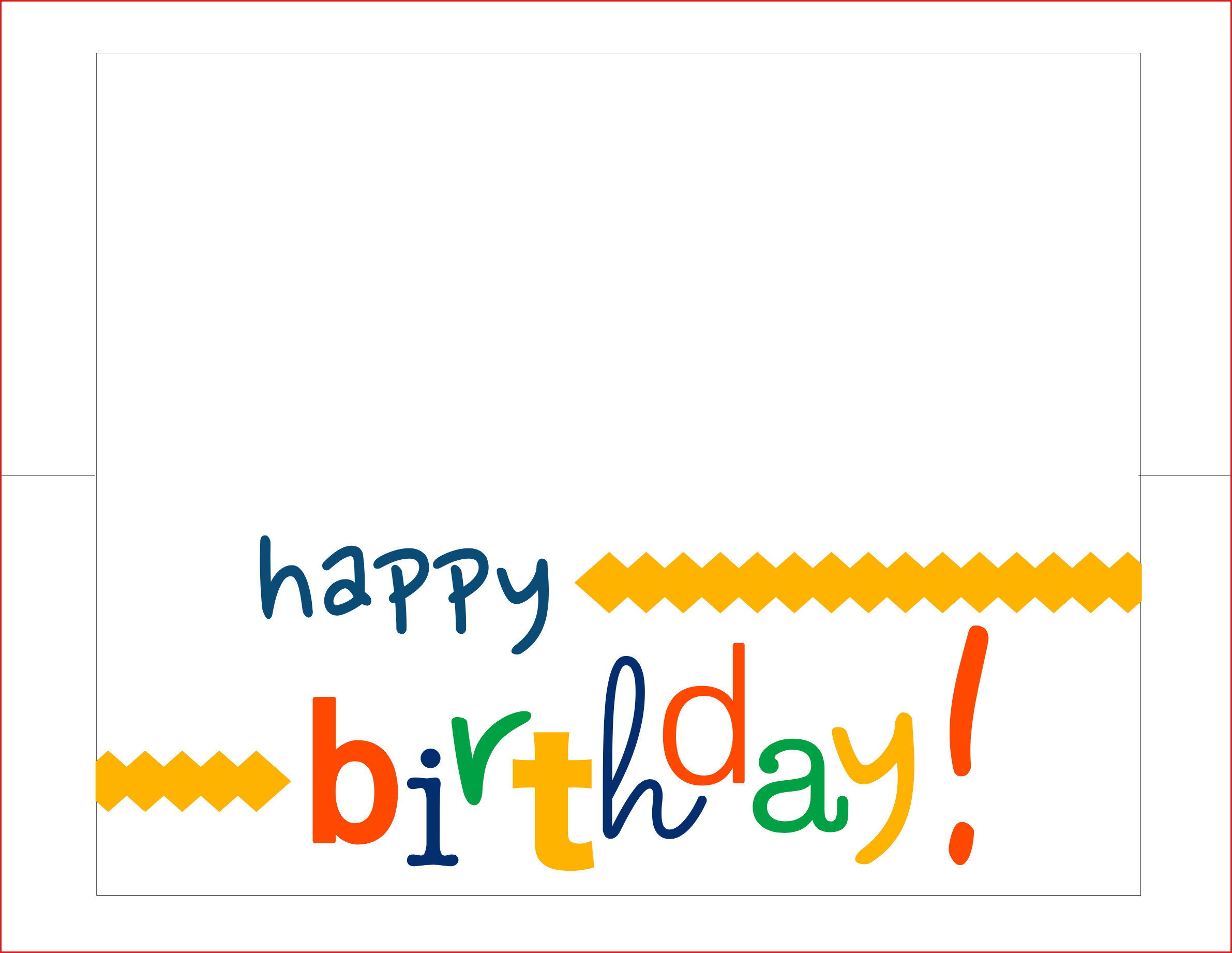 007 Printable Birthday Card Template Free Maker Online Happy Intended For Free Templates For Cards Print
