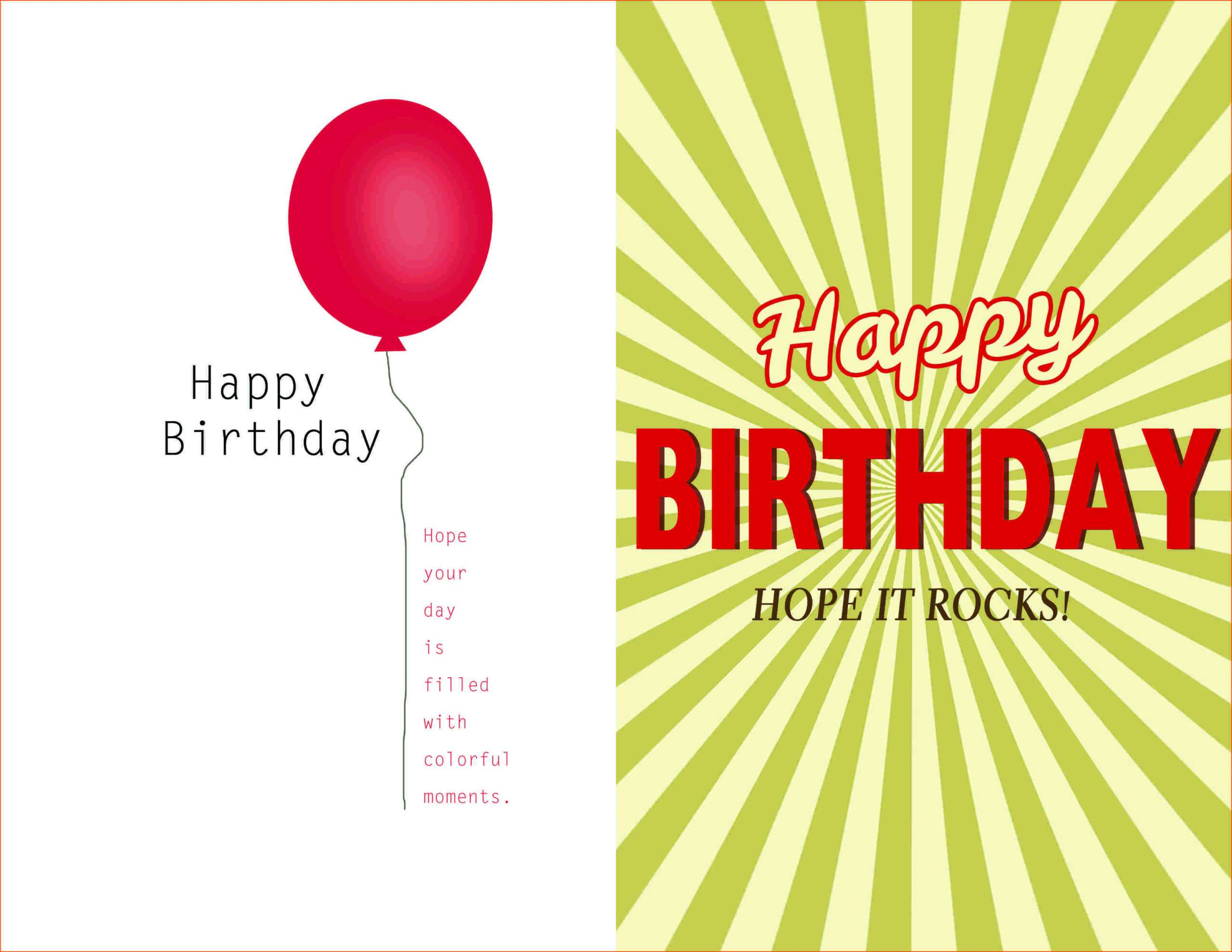 007 Template Ideas Creative Birthday Invitation Quarter Fold Intended For Birthday Card Publisher Template