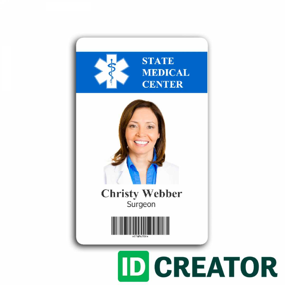 007 Template Ideas Id Badge Card Templates Free Archive Pertaining To Hospital Id Card Template