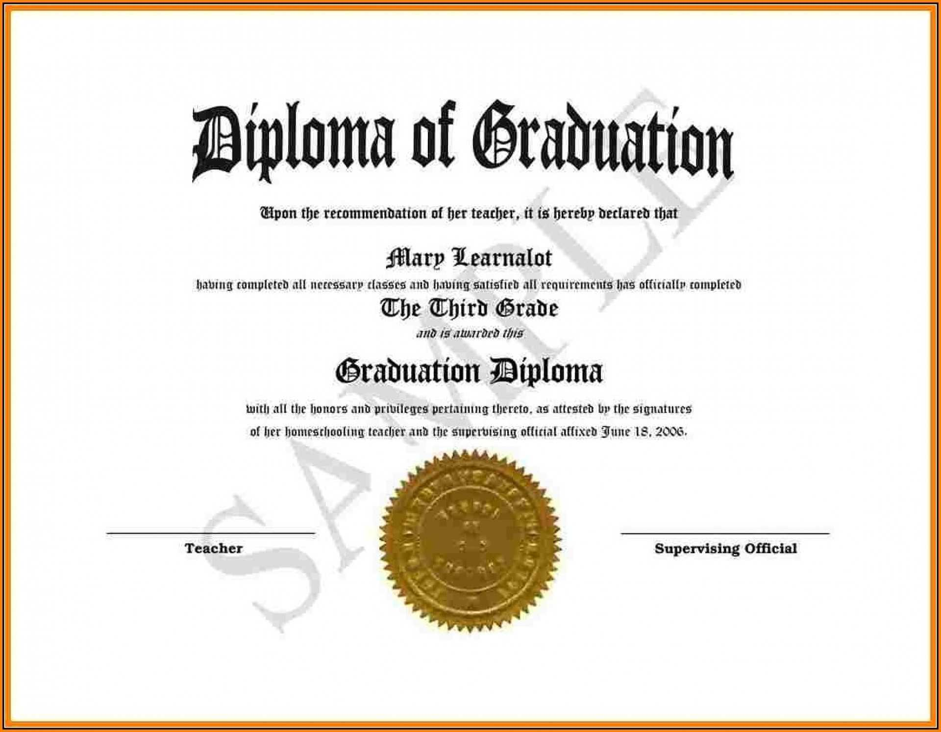 008 Template Ideas Diploma Free Download Awful Certificate Inside Fake Diploma Certificate Template