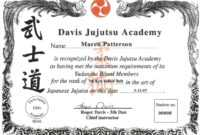 009 Martial Arts Certificate Templates Free Best Solutions pertaining to Free Art Certificate Templates