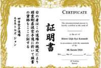 009 Martial Arts Certificate Templates Free Best Solutions throughout Free Art Certificate Templates
