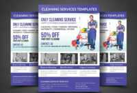 010 Template Ideas Cleaning Service Flyer Remarkable Free with regard to Commercial Cleaning Brochure Templates
