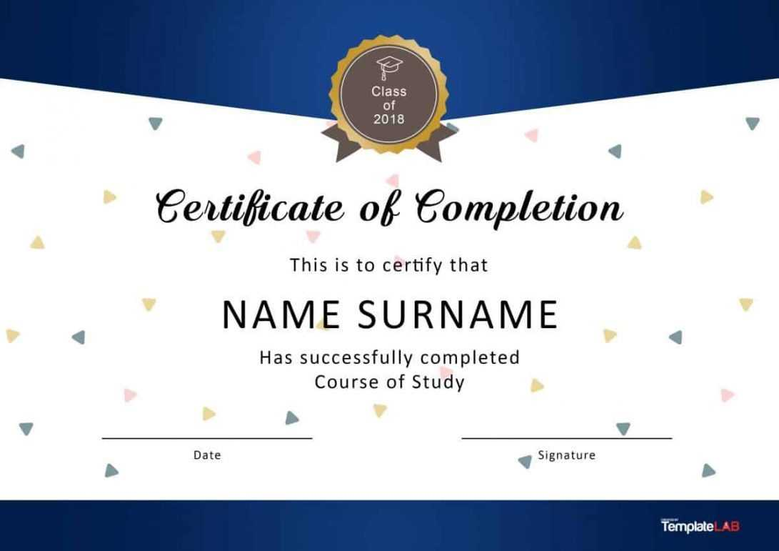 010 Template Ideas Training Completion Certificate Free Of With Regard To Free Training Completion Certificate Templates
