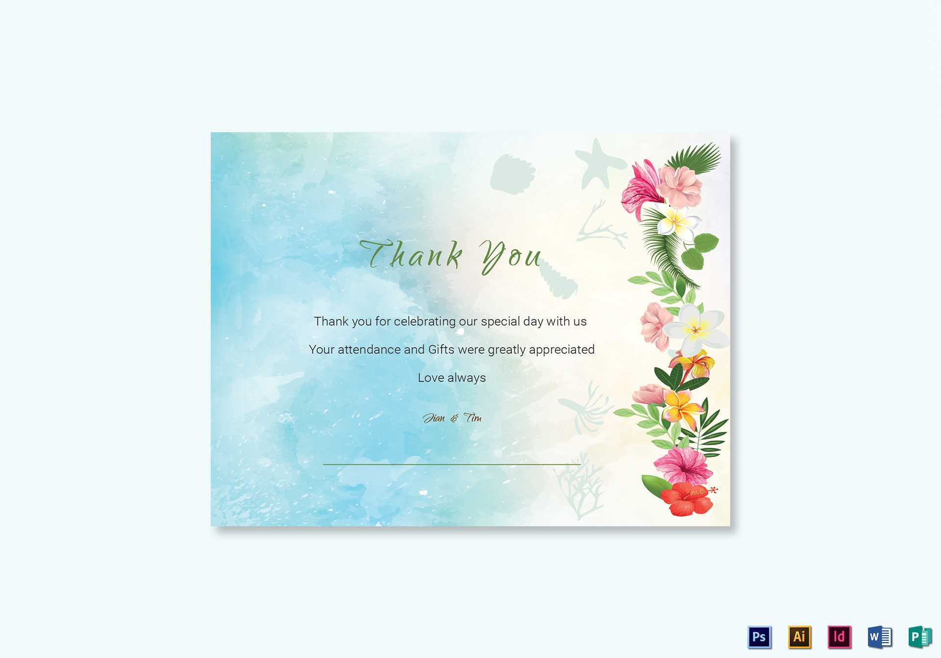 010 Thank You Card Template Word Top Ideas Business Free With Thank You Card Template Word