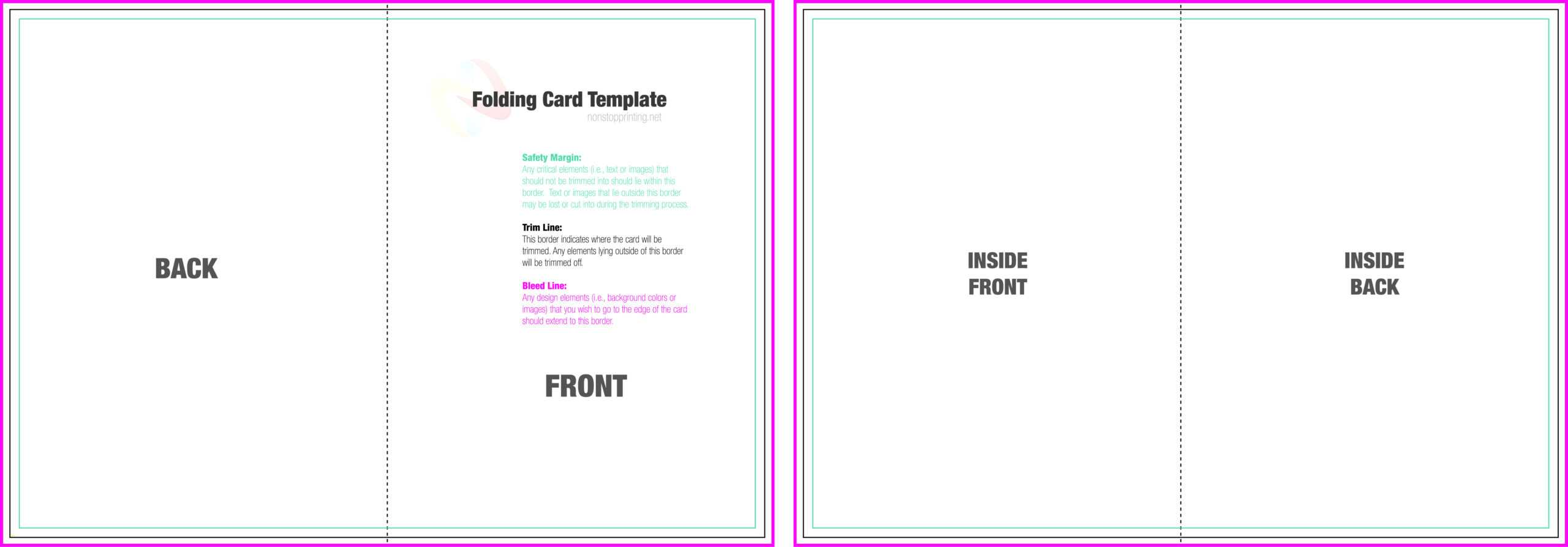 011 Template Ideas Birthday Card Word Quarter Fold Document For Foldable Card Template Word
