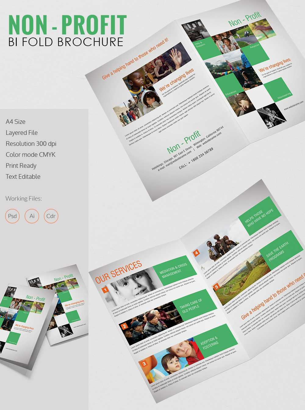 012 Template Ideas Brochure Templates Free Download Psd Bi With Free Illustrator Brochure Templates Download