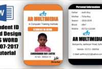 012 Template Ideas Employee Id Cards Templates Card Design pertaining to Sample Of Id Card Template