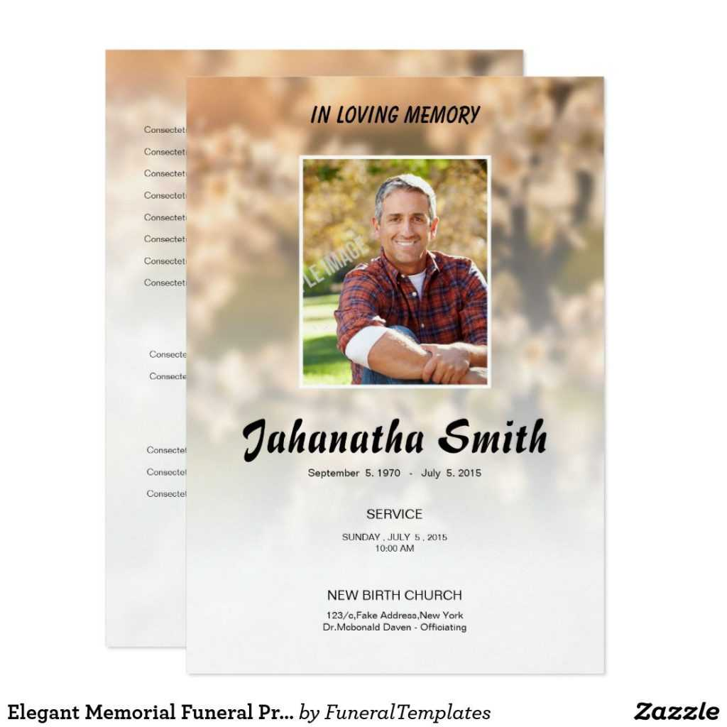 013 Free Memorial Cards Template Memorialard Templates For Inside Remembrance Cards Template Free