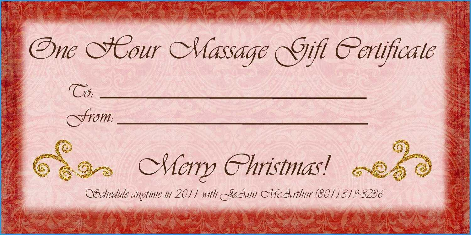 013 Free Printable Gift Certificates Pdf For Photography Pertaining To Massage Gift Certificate Template Free Printable