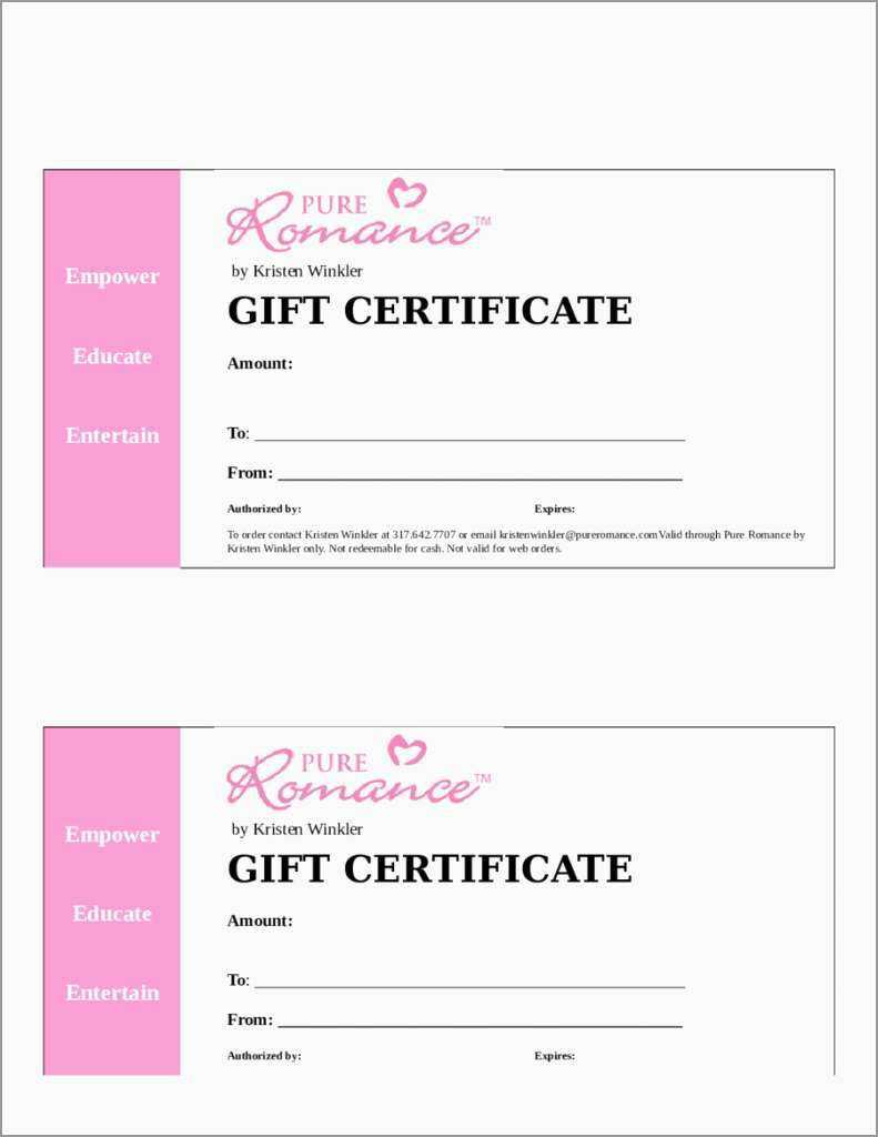 014 Printable Gift Certificates Templatesree Certificate With Massage Gift Certificate Template Free Download
