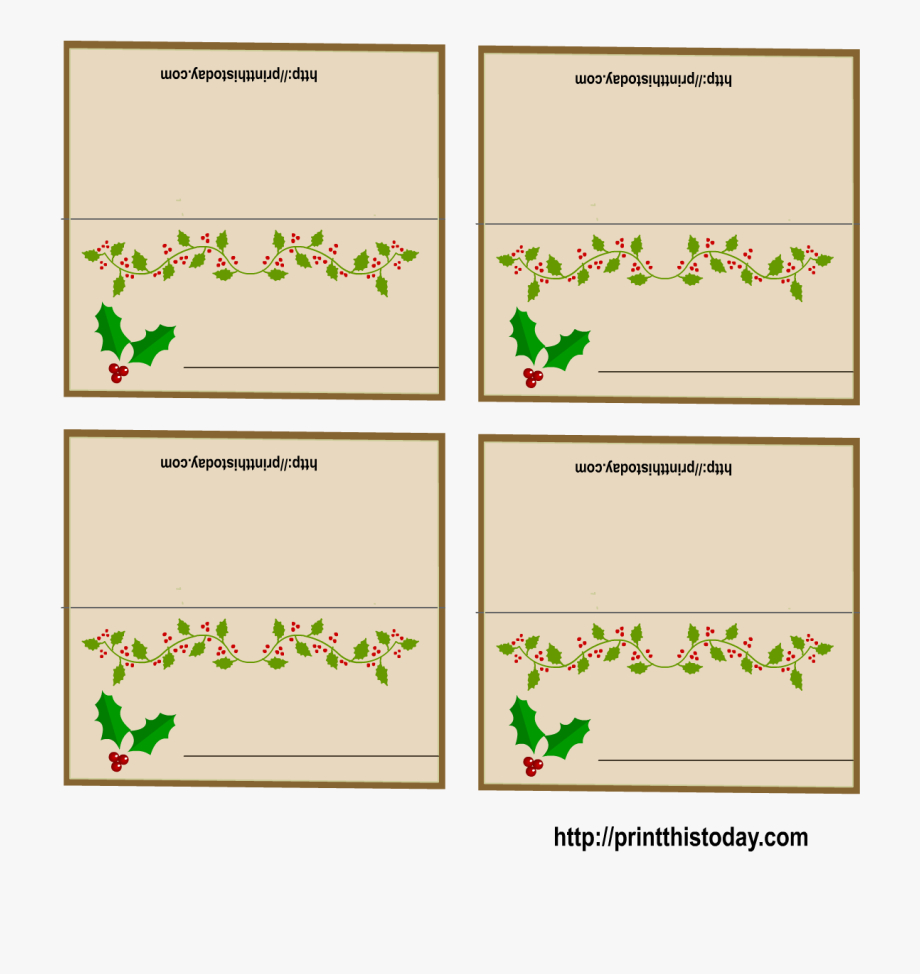 016 Christmas Table Name Place Cards Template Ideas 4545967 Inside Christmas Table Place Cards Template