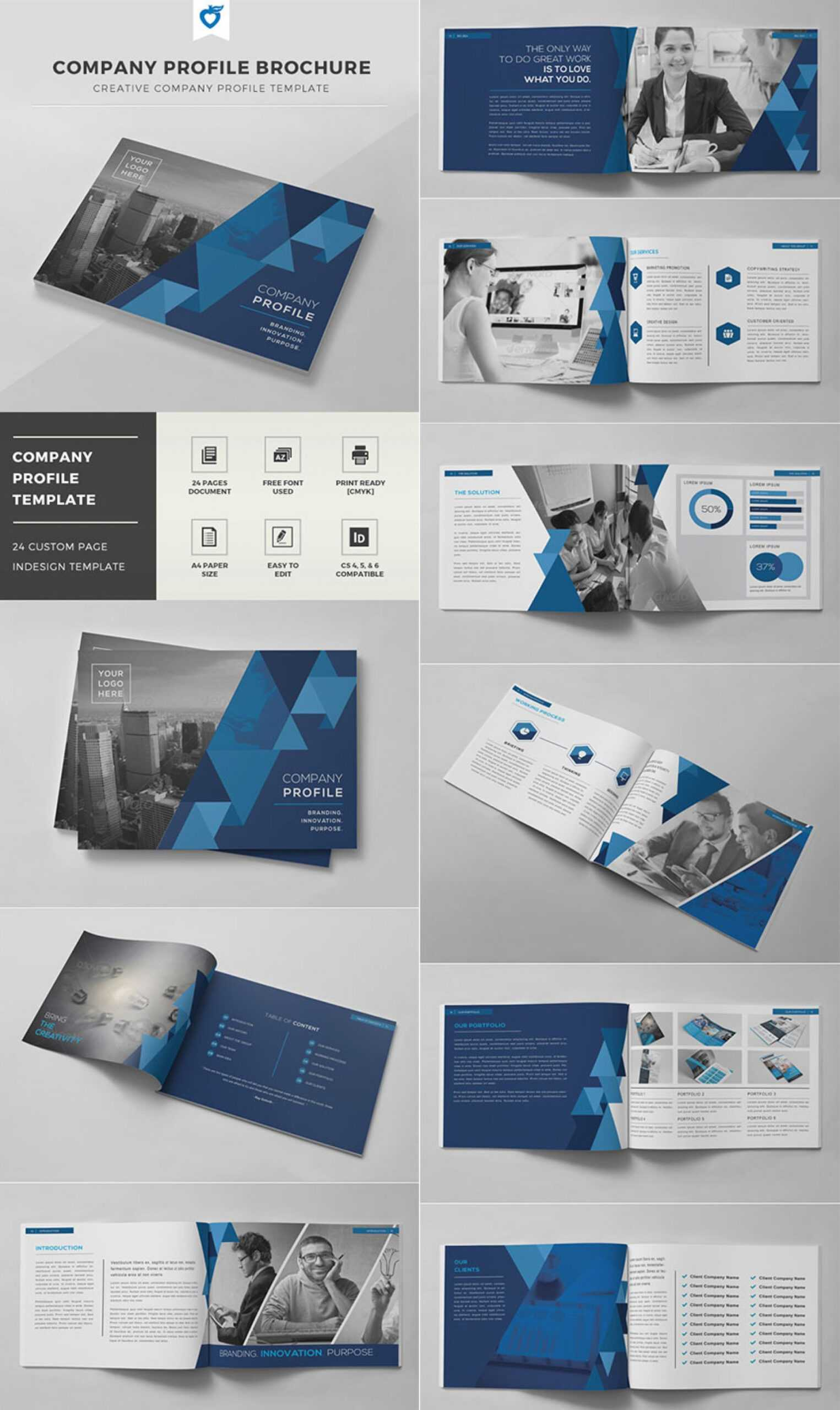 017 Indesign Brochure Templates Free Download Template Inside Indesign Templates Free Download Brochure