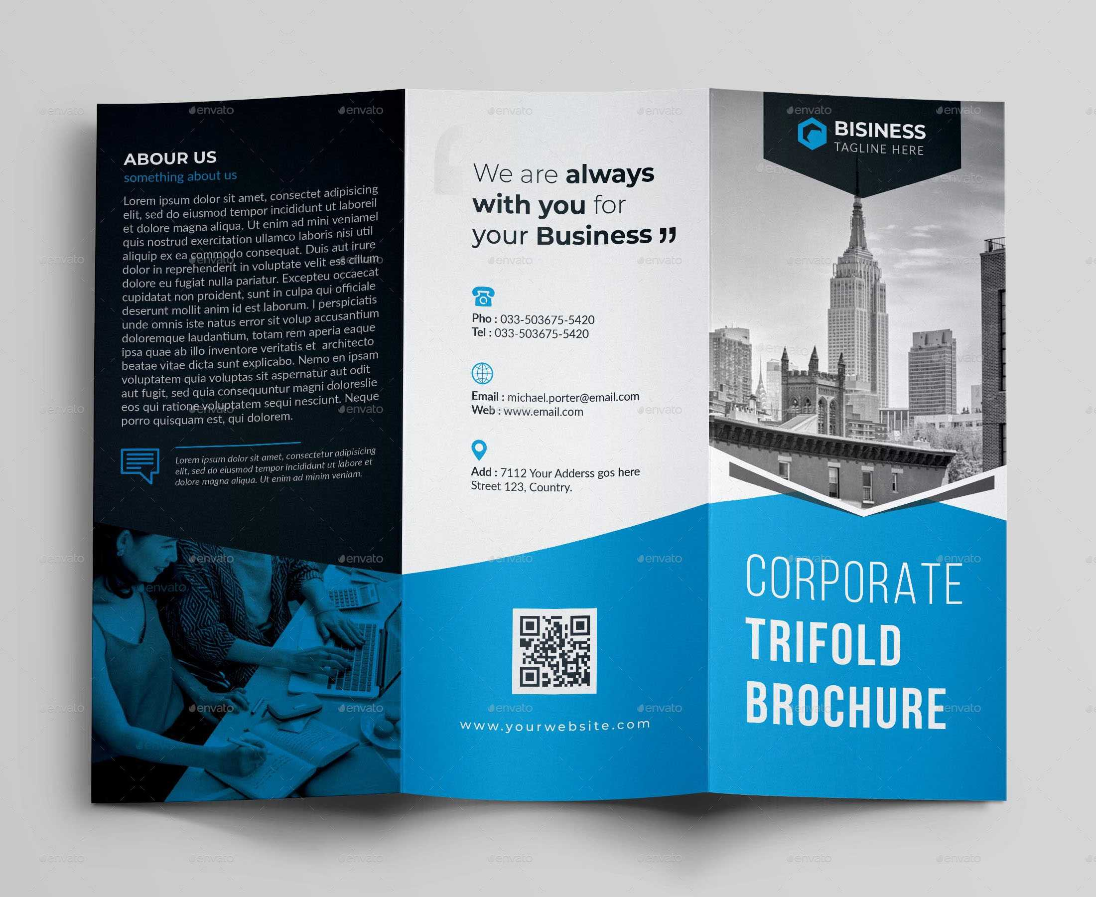 017 Template Ideas Corporate Brochure Templates Psd Free Pertaining To Architecture Brochure Templates Free Download