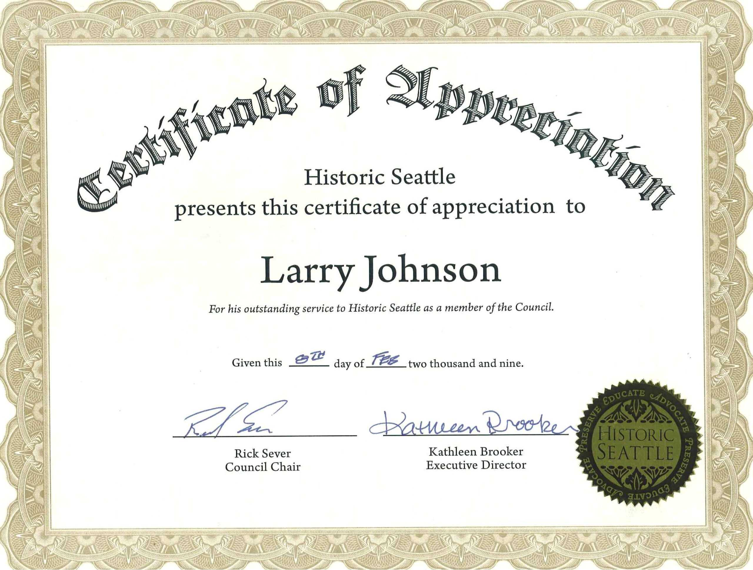 018 Certificate Of Appreciation Template Word Free Inside In Appreciation Certificate Templates