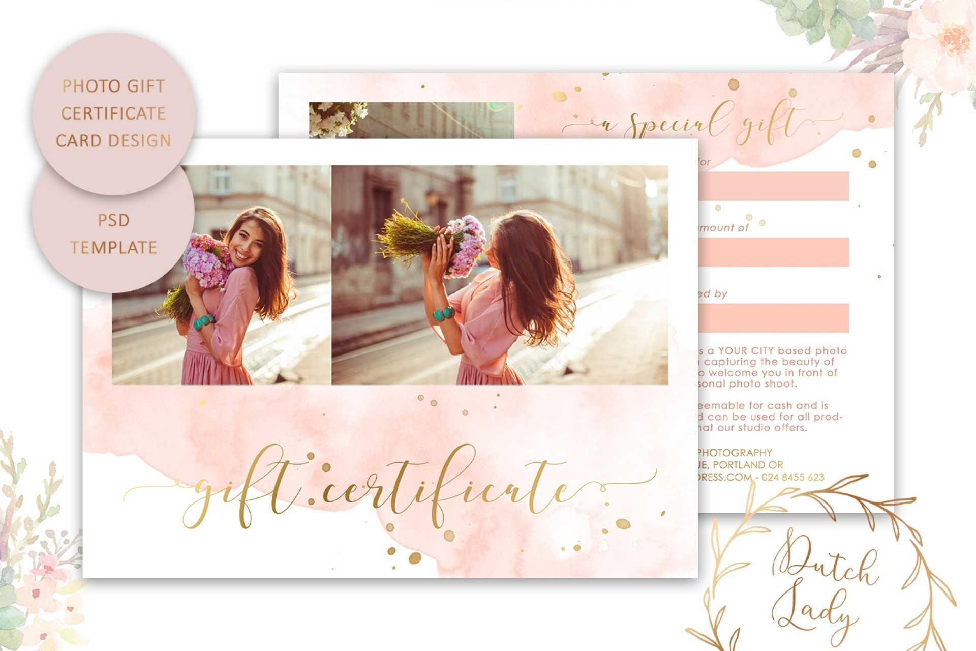 019 Photography Session Gift Certificate Template Ideas Within Free Photography Gift Certificate Template