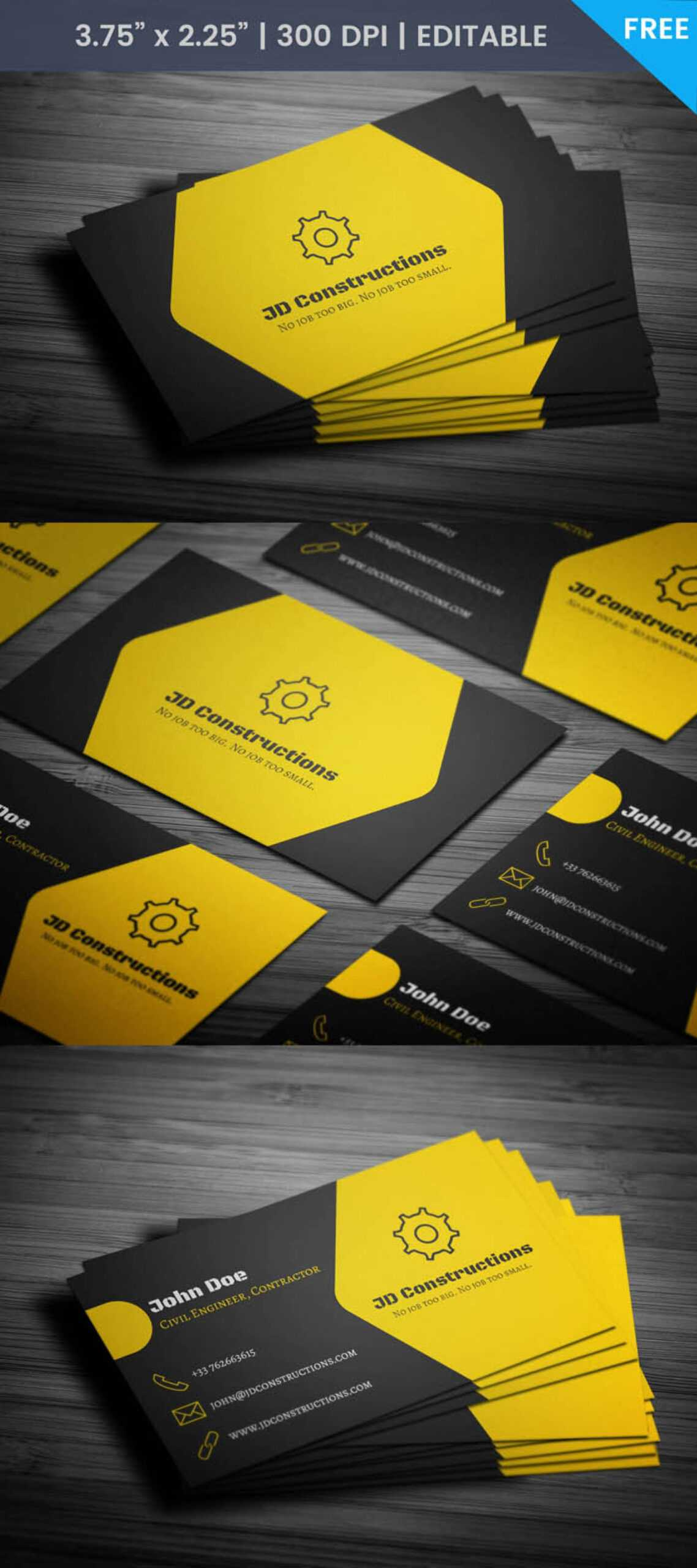 019 Template Ideas Construction Business Card Archaicawful Pertaining To Construction Business Card Templates Download Free