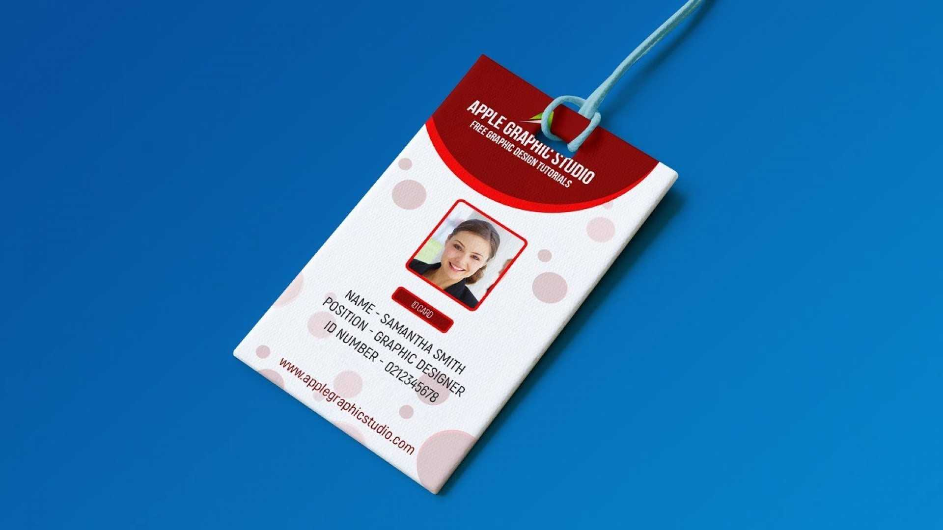 020 Id Card Template Psd Free Download Best Ideas Student Pertaining To College Id Card Template Psd