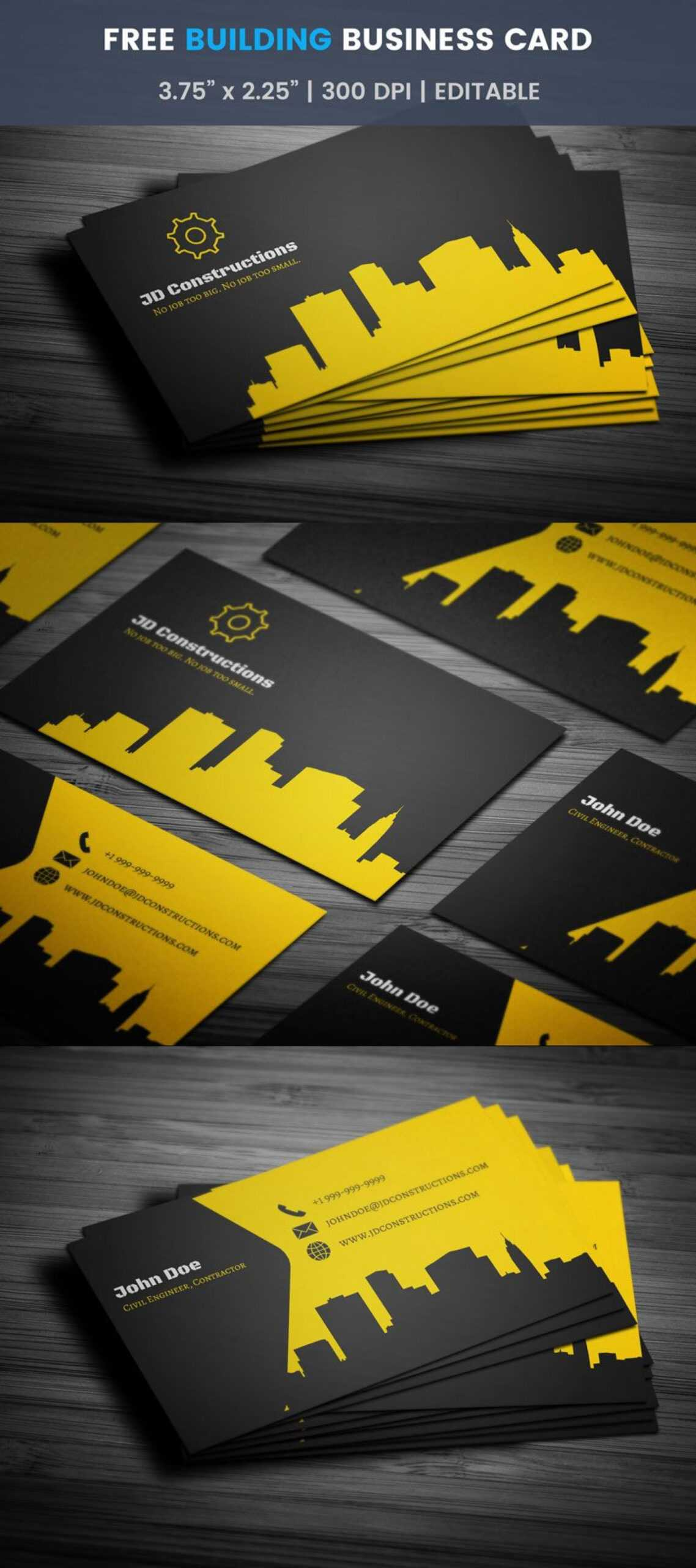 021 Trancprnt Business Card Template Ideas Construction With Construction Business Card Templates Download Free