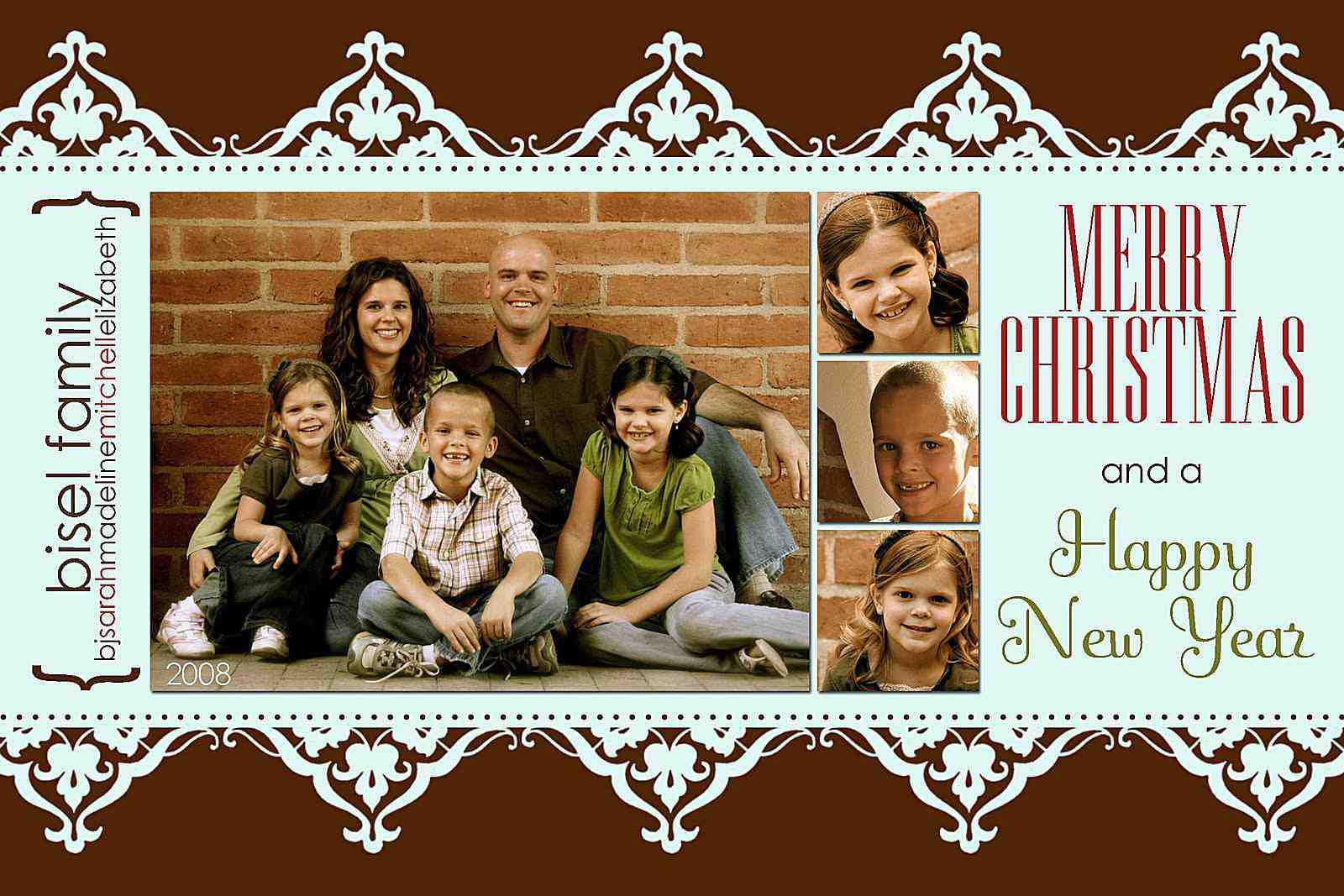 024 Milk And Honey Designs Free Christmas Card Templates Intended For Holiday Card Templates For Photographers