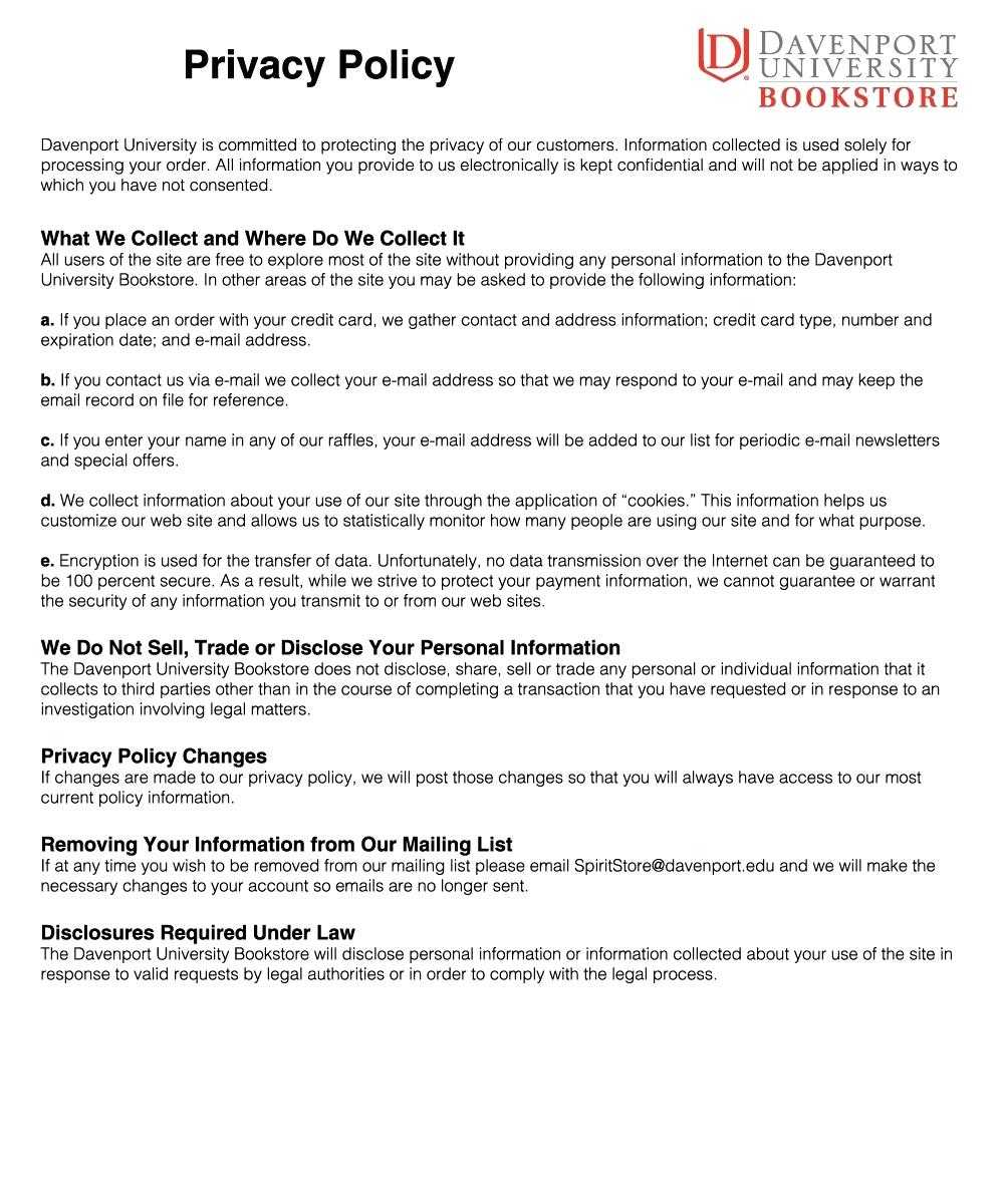 025 Bunch Ideas For Privacy Policy Template Free In Unusual With Regard To Credit Card Privacy Policy Template