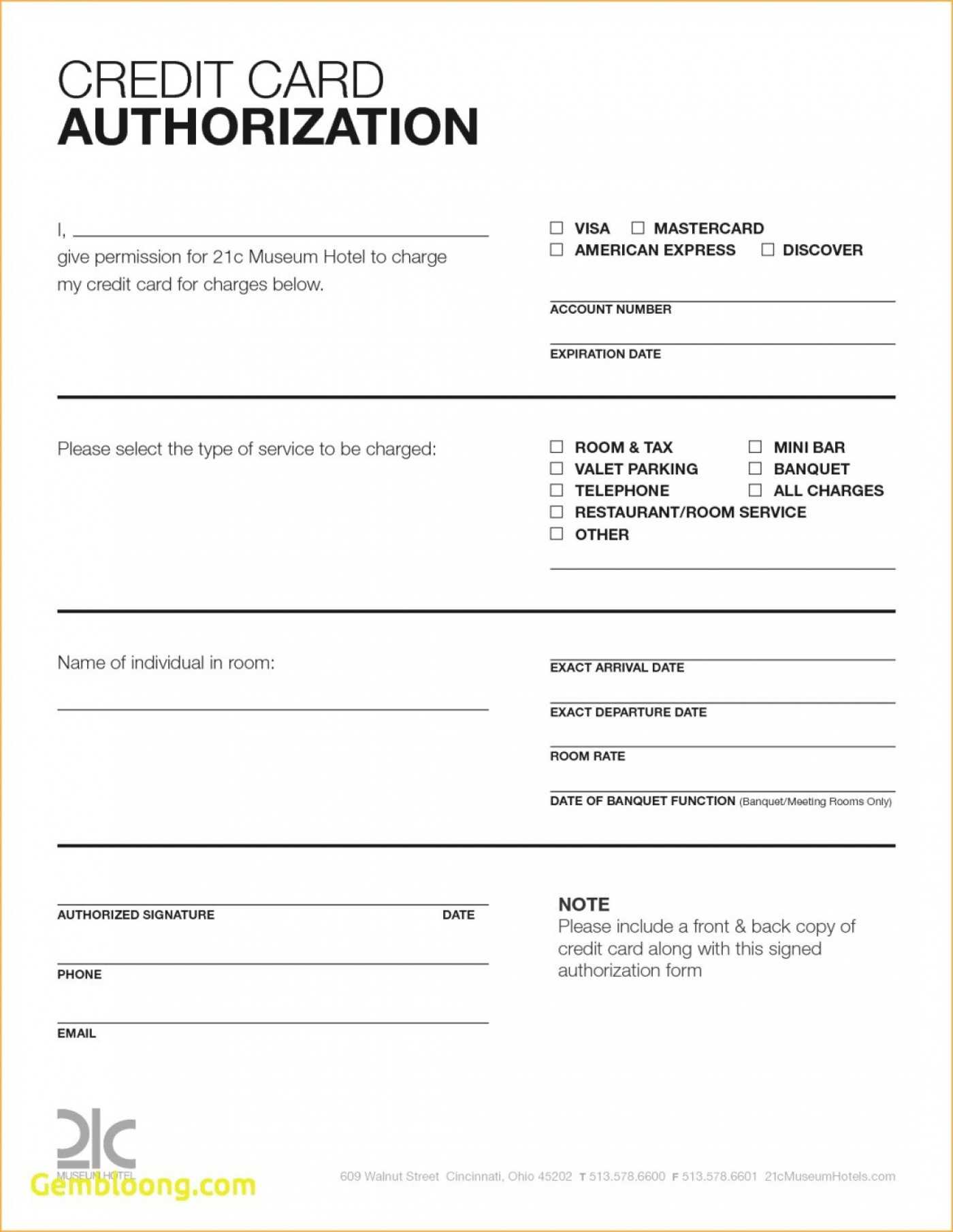 025 Credit Card Authorization Form Template Download Word Inside Credit Card Size Template For Word