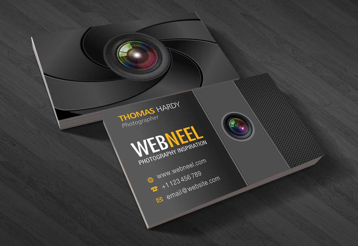025 Photographer Visiting Card Design Psd Photography With Photography Business Card Templates Free Download