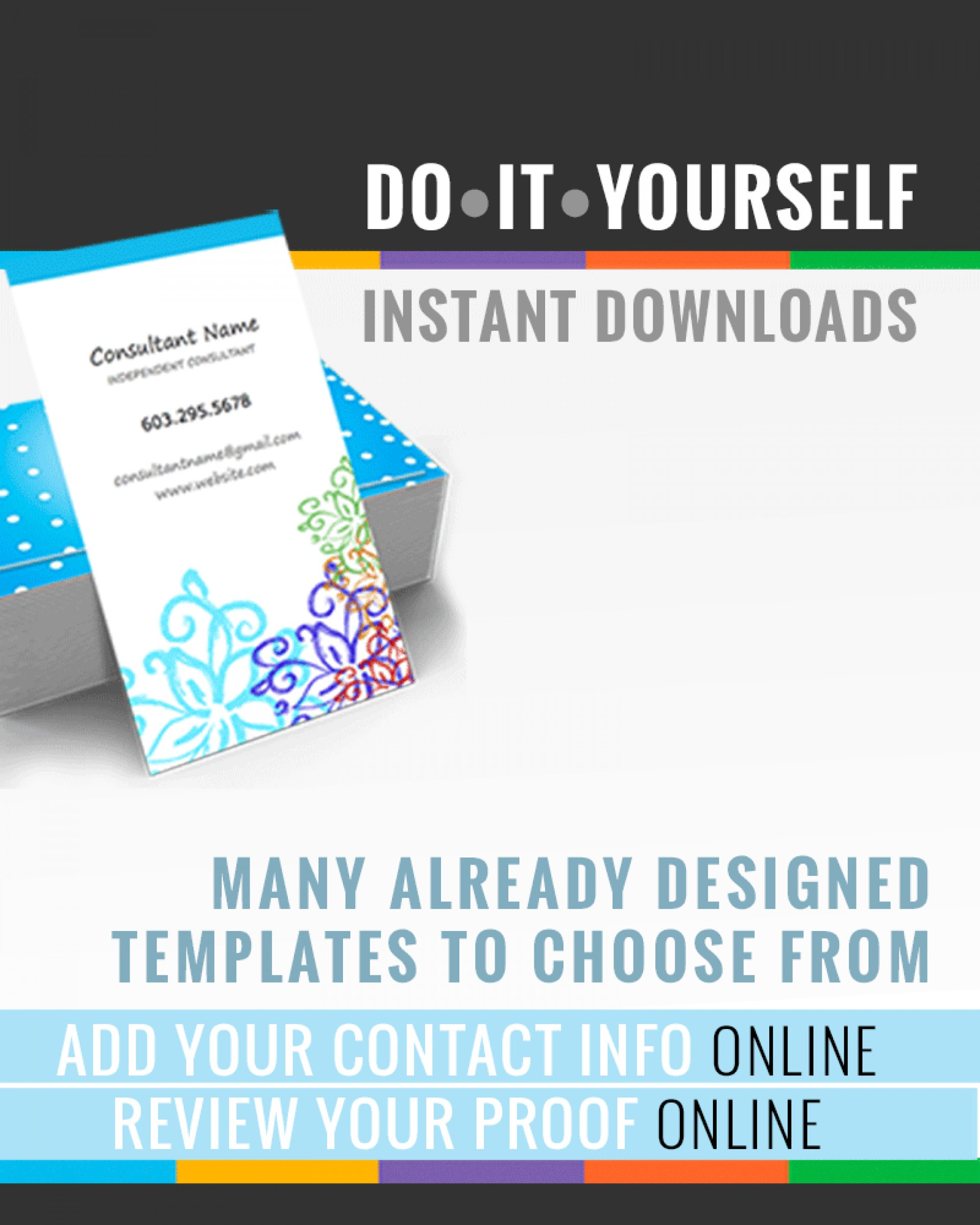 025 Web Blog Business Card Templates Make Your Own Rodan For Rodan And Fields Business Card Template