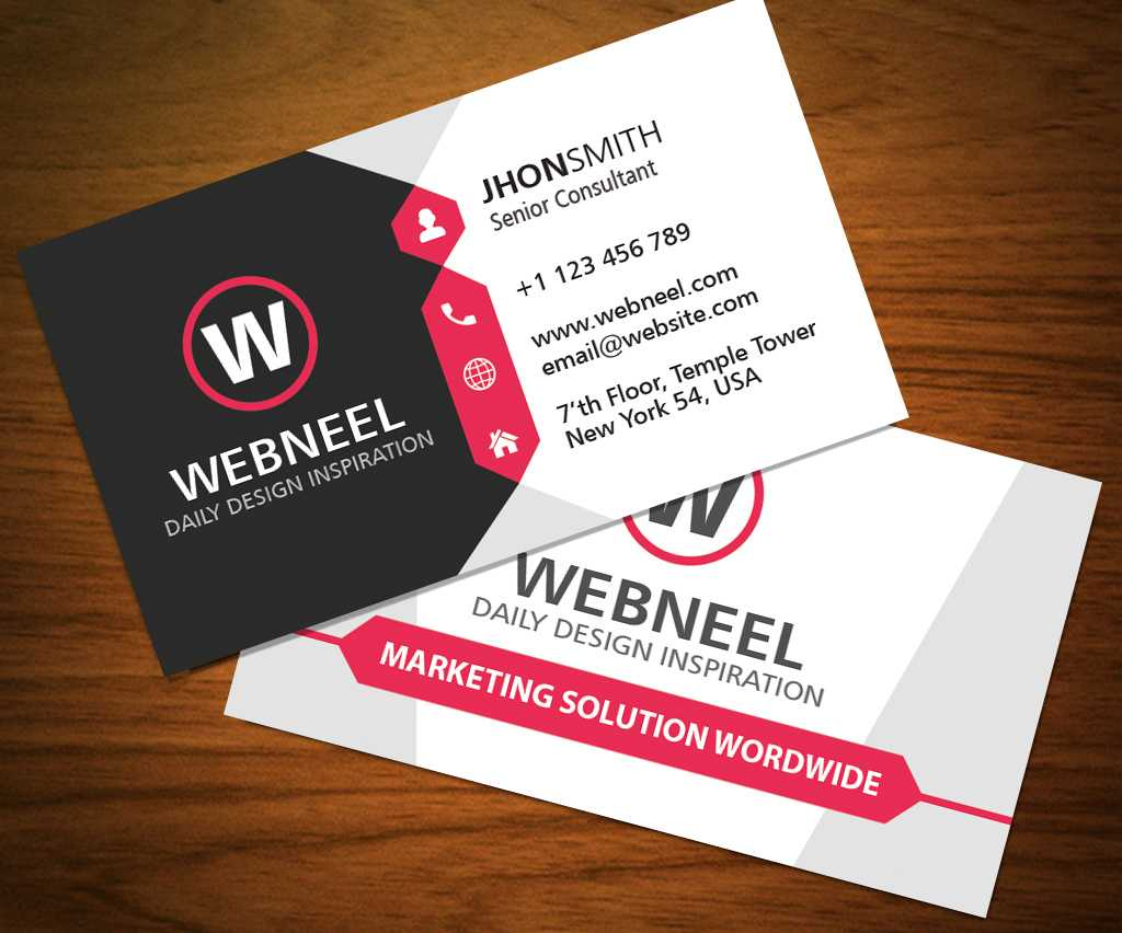 026 Business Card Template Free Download Ideas Modern Throughout Unique Business Card Templates Free