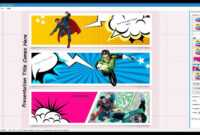 026 Download Free Comic Book Powerpoint Template Singular in Comic Powerpoint Template