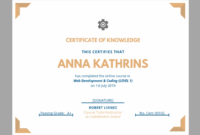 026 Template Ideas Certificates Free Gift Certificate Makes pertaining to This Certificate Entitles The Bearer To Template