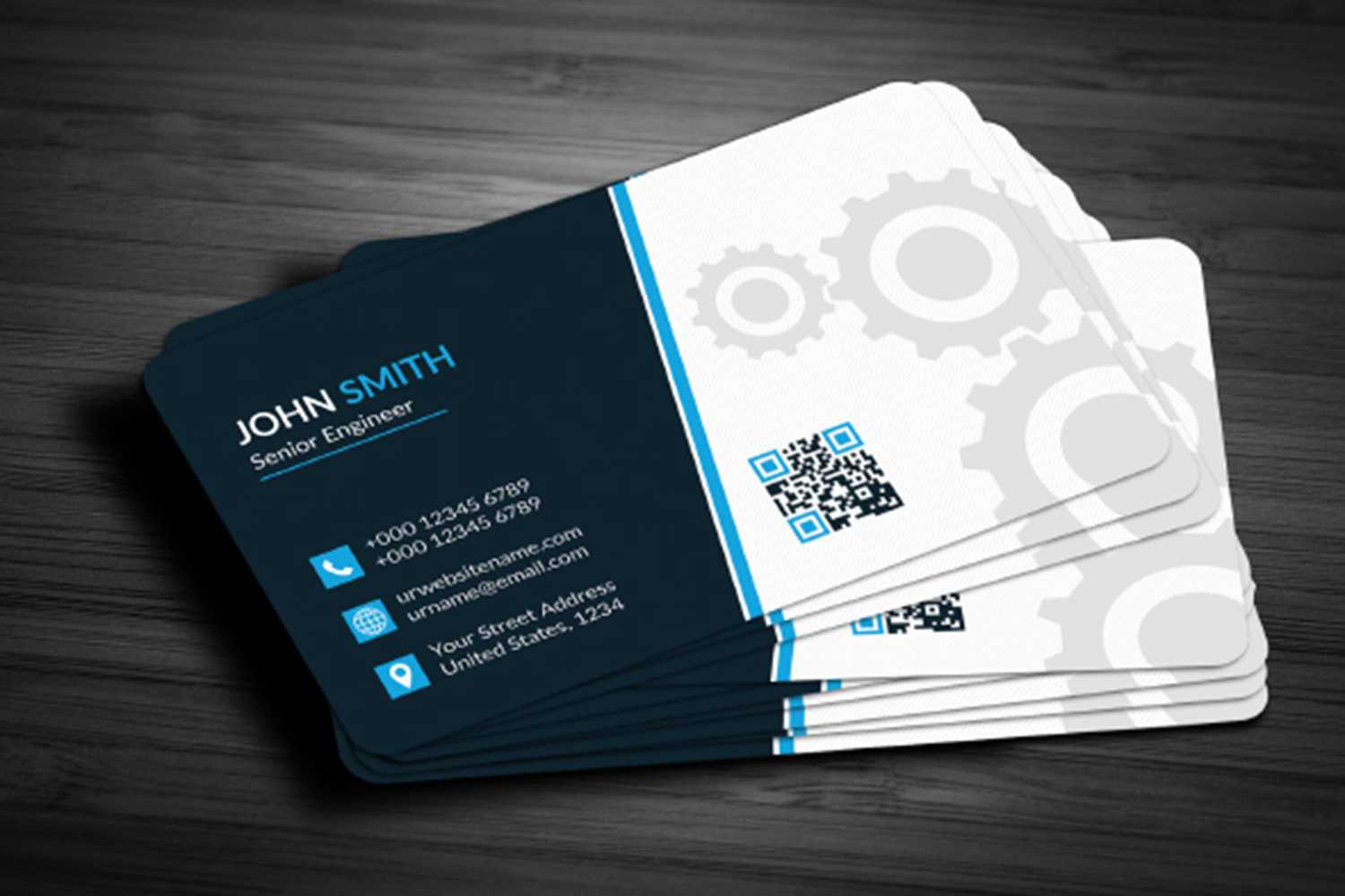 028 Business Card Template Free Download Maxpoint Hridoy Inside Engineering Brochure Templates Free Download