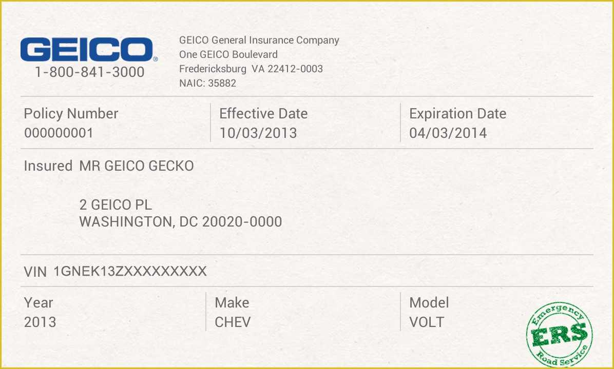 031 Free Auto Insurance Card Templatefit11962C720 Template Intended For Fake Auto Insurance Card Template Download